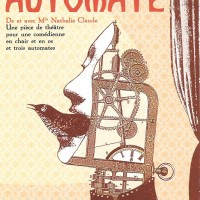 Salon Automate – Affiche (2008). Illustration © Marianne Chevalier